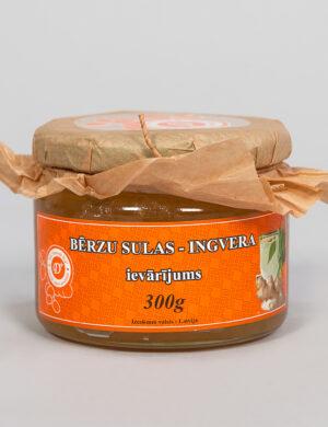 Bērzu sulas ingvera ievārījums 300 g