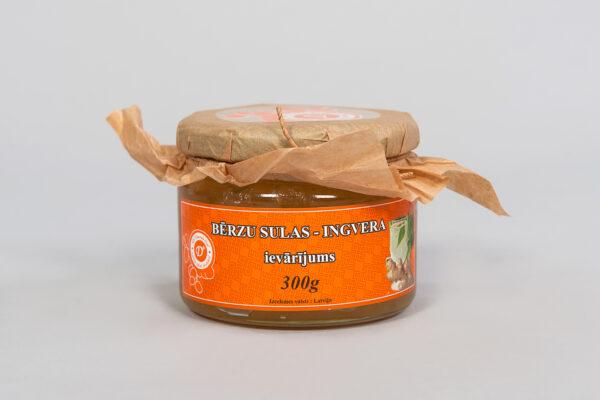 Bērzu sulas ingvera ievārījums 300 g 2