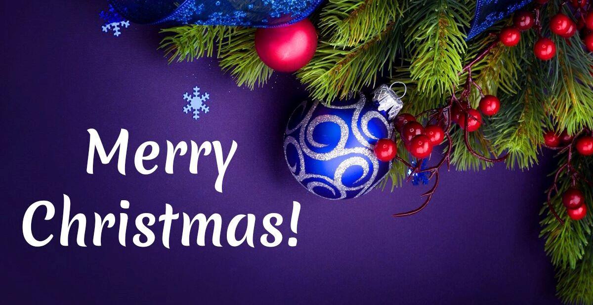 Priecīgus un Gaišus Ziemassvētkus!